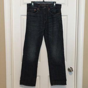 Men's American Eagle dark wash jeans denim 31x32
